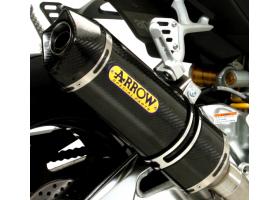 Układ Wydechowy ARROW Kawasaki Z 800 13/15 Race-Tech Karbonowy Końcówka Karbonowa