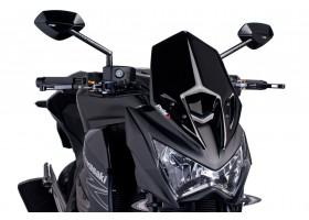 Owiewka PUIG do Kawasaki Z800 13-14 (czarna) 6401N