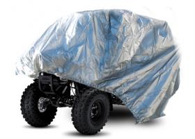 Pokrowiec Biketec Aquatex ATV srebrny