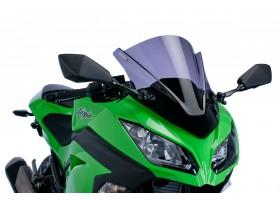 Szyba sportowa PUIG do Kawasaki Ninja 300R 13-14 (mocno przyciemniana) 6463F