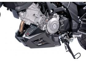 Spoiler silnika PUIG doSuzuki DL650 12-14 (czarny mat)