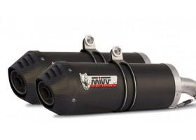 Układ wydechowy MIVV FZ6 04/11 Ovall Carbon