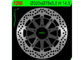 Tarcza Hamulcowa Przednia TRIUMPH 955/1050 PŁYWAJĄCA (320X78X4,5) (5X10,5MM)