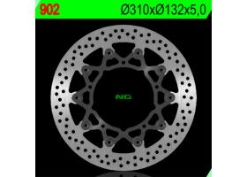 TTarcza Hamulcowa Przednia YAMAHA YZF R6 05-16, YZF R1 07-11, XTZ 1200 11-17, FZ 8 10-15 (310X132X5)