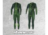 Kombinezon Dainese D-Core Dry 1PC Suit Black/Yellow