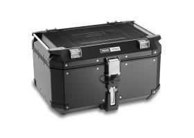 Aluminiowy Kufer Centalny Trekker Outback 58L (czarny)