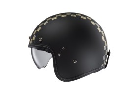 Kask HJC FG-70 BURNOUT BLACK/GREY