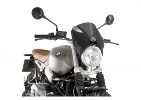 Owiewka PUIG do BMW R NINE T SCRAMBLER (mocno przyciemniana)