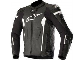 Kurtka skórzana MISSILE LEATHER JACKET TECH AIR COMPATIBLE black/white