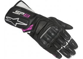 Rękawice STELLA SP-8 v2 GLOVE black/white/purple