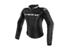 Kurtka DAINESE RACING 3 LADY LEATHER JACKET BLACK/BLACK/BLACK