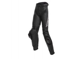 Spodnie DAINESE DELTA 3 LADY LEATHER PANTS BLACK/BLACK/WHITE