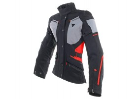 Kurtka DAINESE CARVE MASTER 2 LADY GORE-TEX JACKET BLACK/FROST-GREY/RED