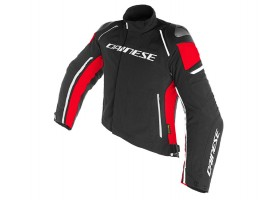 Kurtka DAINESE RACING 3 D-DRY JACKET BLACK/BLACK/RED