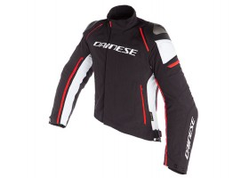 Kurtka DAINESE RACING 3 D-DRY JACKET BLACK/WHITE/FLUO-RED