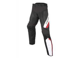 Spodnie DAINESE DRAKE AIR D-DRY PANTS BLACK/WHITE/RED