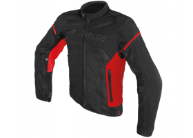 Kurtka DAINESE AIR FRAME D1 TEX JACKET BLACK/RED/RED