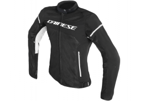 Kurtka DAINESE AIR FRAME D1 LADY TEX JACKET BLACK/BLACK/WHITE