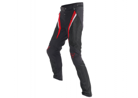 Spodnie DAINESE DRAKE SUPER AIR TEX PANTS BLACK/RED/WHITE