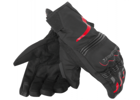 Rękawice DAINESE TEMPEST UNISEX D-DRY SHORT GLOVE BLACK/RED