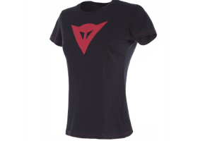 Koszulka DAINESE SPEED DEMON LADY T-SHIRT BLACK/RED