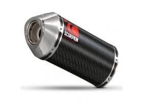 XJR 1300 2007+ CARBINE OVAL CARBON EYA82CFO