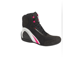 Buty DAINESE MOTORSHOE LADY D-WP SHOES JB BLACK/WHITE/FUCHSIA