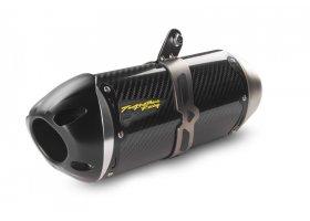 Tłumik typu Slip-On 14/15 Honda VFR800/Interceptor with OEM Saddlebags S1R Standard Carbon REF: 005-4030405-S1