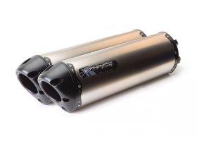 Tłumik typu Slip-On Suzuki GSX-R1000 R Hayabusa 07/08 Dual M2 Black Titanium REF: 005-1780408DF-B
