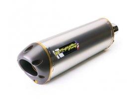 Tłumik typu Slip-On Suzuki GSX-R1000 09/15 Dual M2 Standard Titanium REF: 005-2420408DV