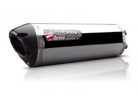Tłumik typu Slip-On Suzuki 12/16 M2Silver Aluminum REF: 005-3210406V
