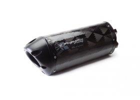 Tłumik typu Slip-On Suzuki GSX-R750/GSX-R600 08/10 M2 Black Carbon REF: 005-2130407V-B