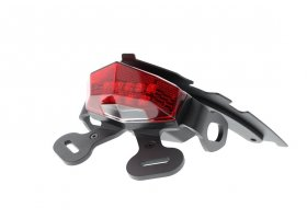 Fender eliminator EVOTECH do Suzuki Gladius 650 (Red Rear Light)