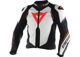 Super Speed D1 Jacket White/Black/Red-Fluo