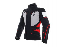 Kurtka DAINESE CARVE MASTER 2 GORE-TEX JACKET BLACK/FROST-GREY/RED