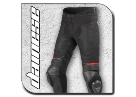 AIR FRAZER D1 Leather-TEX Pants Black