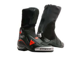 BUTY DAINESE AXIAL D1 BOOTS BLACK/FLUO RED