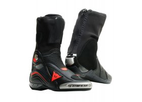 BUTY DAINESE AXIAL D1 AIR BOOTS BLACK/FLUO-RED