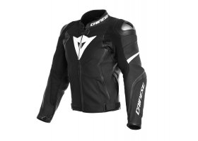 Kurtka DAINESE AVRO 4 LEATHER JACKET BLACK/BLACK/WHITE