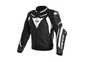 Kurtka skórzana DAINESE SUPER SPEED 3 Leather JacketBLACK/WHITE