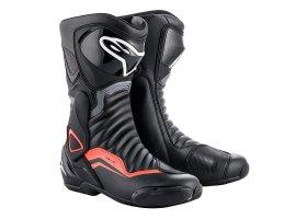 Buty SMX-6 v2 black/grey/red-fluo