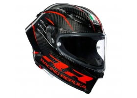 KASK AGV Pista GP RR MULTI Max Vision PINLOCK Performance Carbon/Red