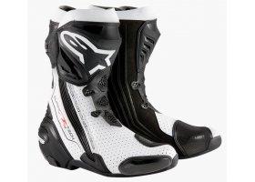 Buty Alpinestars Supertech R Black/White VENTED