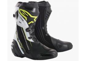 Buty Alpinestars Supertech R Black/Yellow Fluo/White