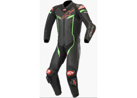 Kombinezon skórzany Alpinestars GP Pro V2 1-Piece Suit Tech-Air® Compatible Black/Bright Green