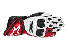 Rękawice ALPINESTARS GP Tech White/Red/Black