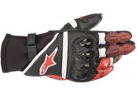 Rękawice ALPINESTARS GP X V2 Black/White/Bright Red