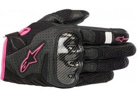 Rękawice ALPINESTARS STELLA SMX1-AIR V2 Black/Fuchsia