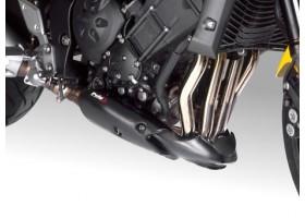 Spoiler silnika PUIG do Yamaha FZ1 N/S 06-14 (czarny mat)
