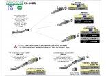 Układ Wydechowy ARROW KAWASAKI ZX-10RR 2021 HALF SYSTEM PRO-RACE TYTAN